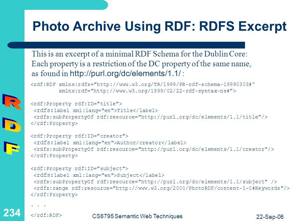 Protégé-2000 as RDF[S]-Editor
